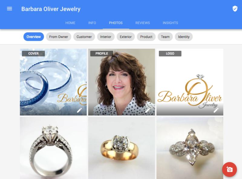 New Google My Business Photo Interface