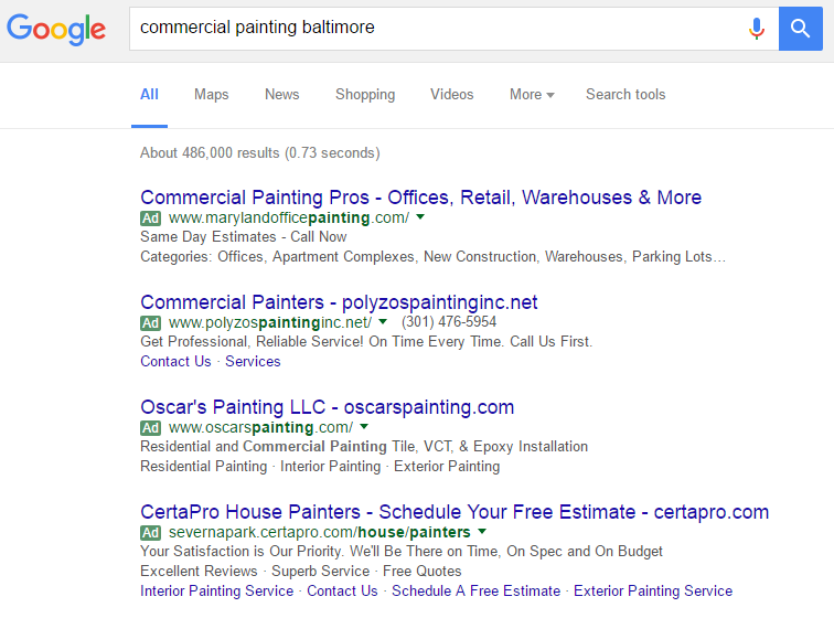 Google AdWords keyword match types blog